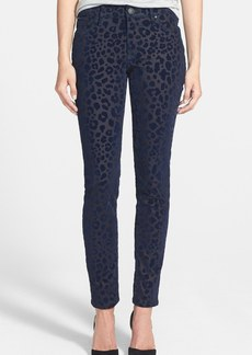 True Religion Brand Jeans 'Halle' Leopard Print Skinny Pants