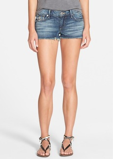 True Religion Brand Jeans 'Joey' Low Rise Denim Cutoff Shorts (Rambler)