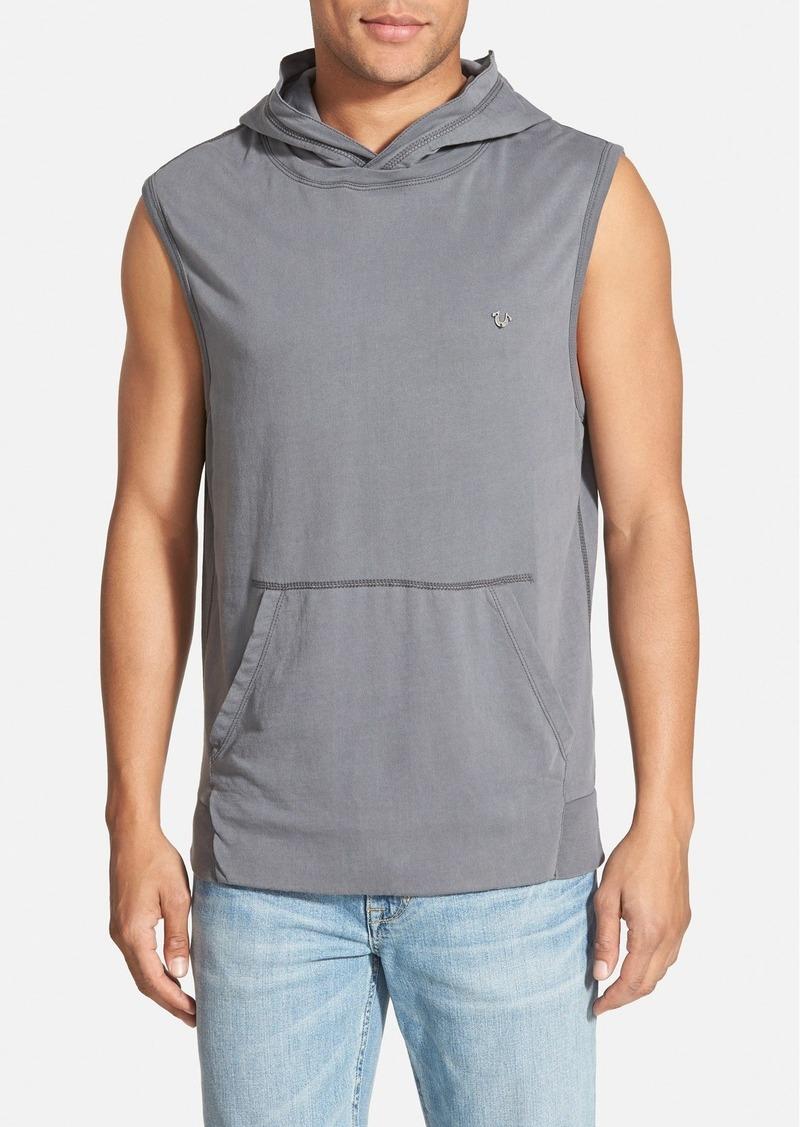 true religion true religion brand jeans sleeveless hoodie