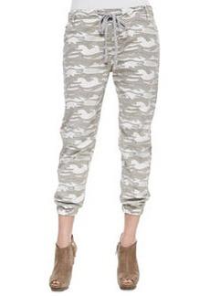 True Religion Camo-Print Elastic-Cuff Pants (Stylist Pick!)