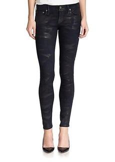 True Religion Casey Camo-Print Skinny Jeans