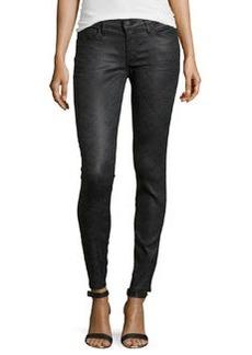 True Religion Casey Low Rise Super Skinny Brocade Jeans, Smoldering Moments