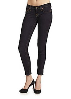 True Religion Casey Low-Rise Super-Skinny Jeans
