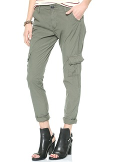 True Religion Celina Mid Rise Relaxed Cargo Pants