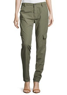 True Religion Celina Relaxed Rolled Cargo Pant, Dusty Olive