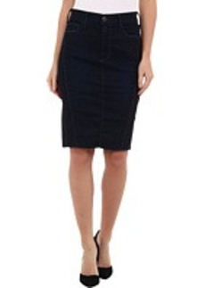True Religion Chloe Moto Pencil Skirt