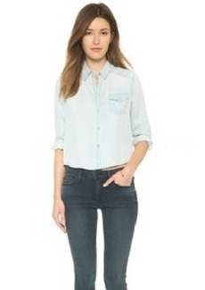 True Religion Cropped Shirt