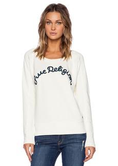 True Religion Embroidered Sweatshirt
