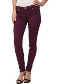 True Religion Halle Super Skinny Leggings in Passion