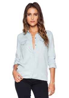 True Religion Indigo Georgia Top