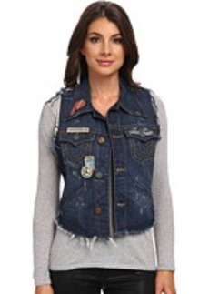 True Religion Jada Cut Off On The Road Vest