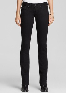 True Religion Jeans - Billy Core Straight in Iron Black