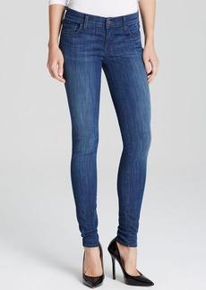True Religion Jeans - Casey Low Rise Super Skinny in Midnight Fog