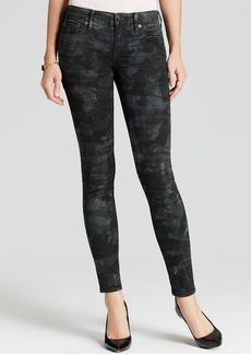 True Religion Jeans - Casey Low Rise Super Skinny in Tiger Camo