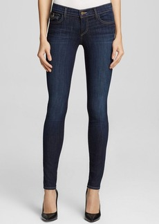 True Religion Jeans - Casey Low Rise Super Skinny with Flap Pocket in Picassos Blues