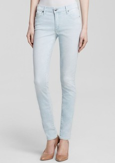 True Religion Jeans - Halle Mid Rise Super Skinny in Sunnynook