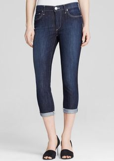 True Religion Jeans - Halle Rolled Crop in Lonestar