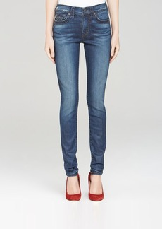 True Religion Jeans - Halle Super T Skinny with Flap Pockets in Caught Glance