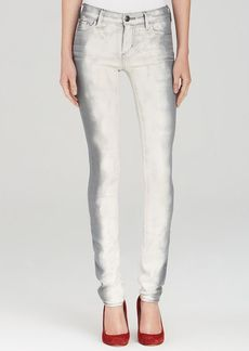 True Religion Jeans - Victoria Mid Rise Skinny in Frozen Forever