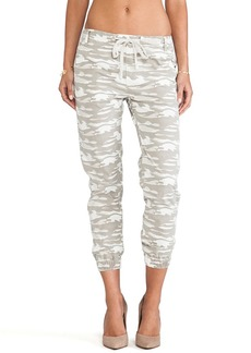 True Religion Jogger Sweatpant in Beige