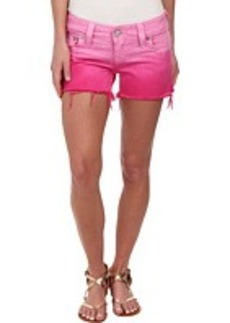 True Religion Kiera Ombre Shorts in Fuchsia