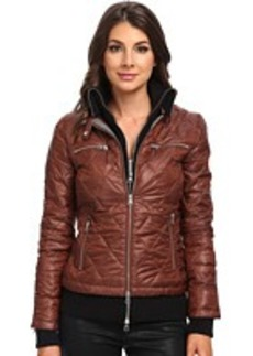 True Religion Quilted Jacket w/ Rib Lining