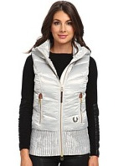 True Religion Quilted Puff Gilet