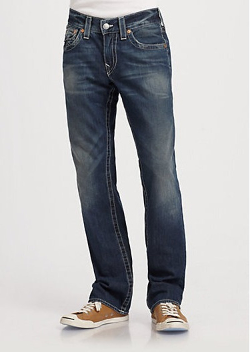 true religion true religion ricky straight leg jeans. Black Bedroom Furniture Sets. Home Design Ideas