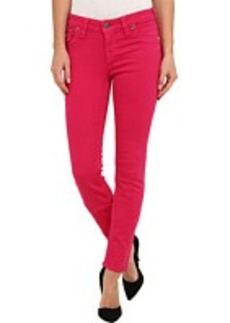 True Religion Serena Chessboard Crystal OD Jean in Fuchsia
