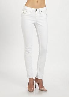 True Religion Serena Mid-Rise Super Skinny Jeans