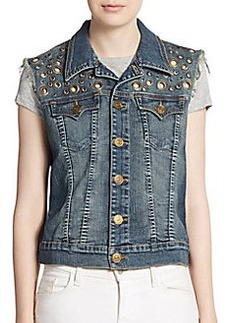 True Religion Shelby Denim Vest