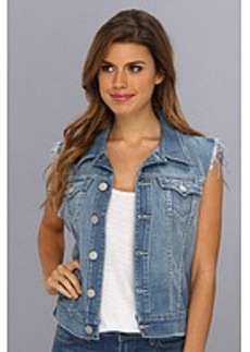 True Religion Shelby Western Vest in Charming Lily