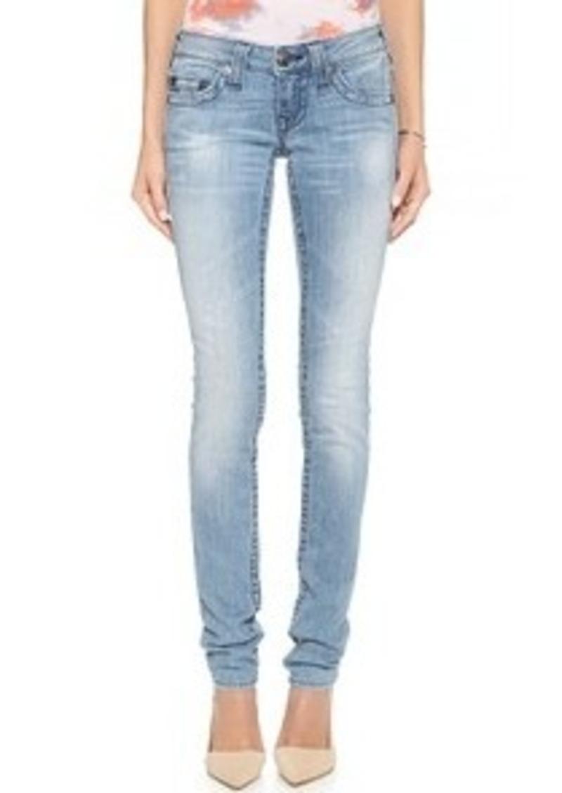 true religion true religion stella skinny jeans denim. Black Bedroom Furniture Sets. Home Design Ideas