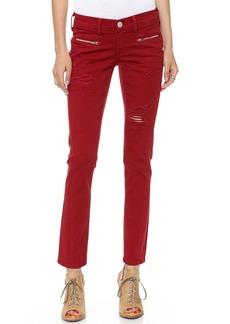 True Religion Victoria Moto Skinny Jeans