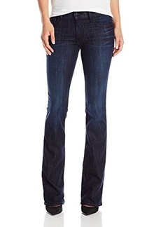 True Religion Women's Becca Petite Mid Rise Bootcut Jean In Picasso's Blues