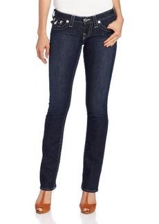 True Religion Women's Billy Straight Leg Jean in Lonestar