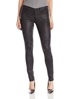 True Religion Women's Casey Low Rise Super Skinny Jean In Brocade