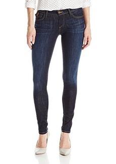 True Religion Women's Casey Low Rise Super Skinny Jean In Picasso's Blues