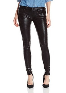True Religion Women's Casey Low Rise Super Skinny Jean In Python