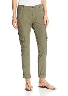 True Religion Women's Celina Relaxed Rolled Cargo Pant