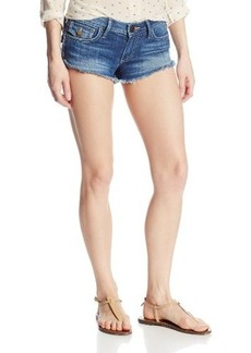 True Religion Women's Joey Cut-Off Denim Short