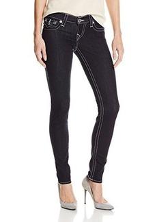 True Religion Women's Misty Skinny Legging Jean in Body Rinse