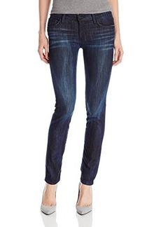 True Religion Women's Victoria Mid Rise Skinny Jean In Sulphur Spring