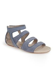 Tsubo 'Barbra' Stingray Embossed Ankle Strap Sandal (Women)