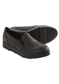 Tsubo Ebonee Leather Shoes - Slip-Ons (For Women)