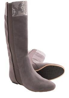 Tsubo Galena Boots - Snakeskin-Print Cuff (For Women)