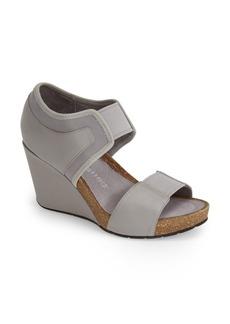 Tsubo 'Norra' Leather & Stretch Sandal (Women)