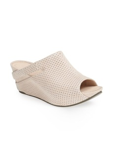 Tsubo 'Ovid' Perforated Wedge Sandal (Women)