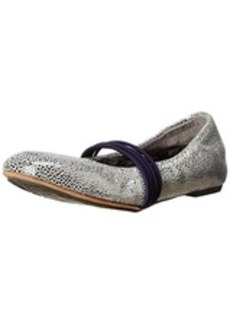 TSUBO Women's Honnor Metalic Crackle Ballet Flat