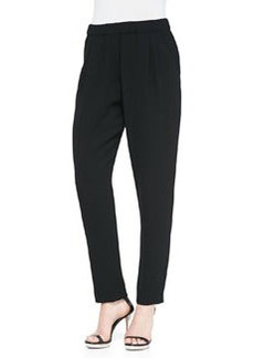 12th Street by Cynthia Vincent Silk Relaxed Jogger Pants